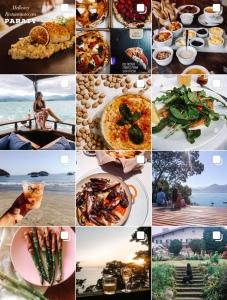 Perfil do Instagram de @exploravida_ com dicas de viagem e gastronomia